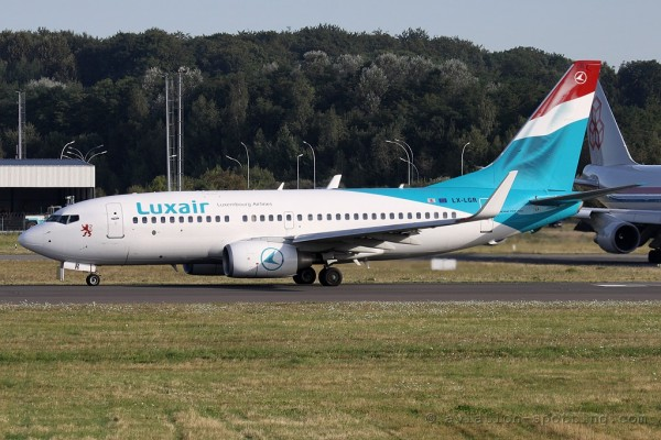 Luxair Boeing B737-700 (Luxembourg)