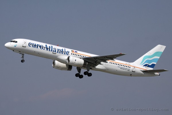EuroAtlantic Airways Boeing B757-200 (Portugal)