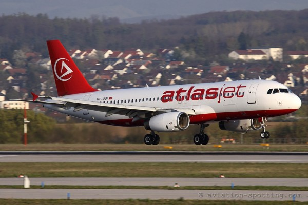 Atlasjet A320 Airbus 320 (Turkey)