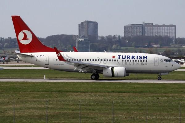 Turkish Airlines Boeing B737-700