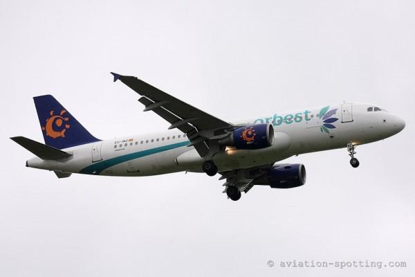 Orbest Orizonia Airlines Airbus 320 (Spain)