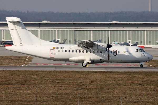 Let´s Fly Aerospatiale ATR42 (Spain)