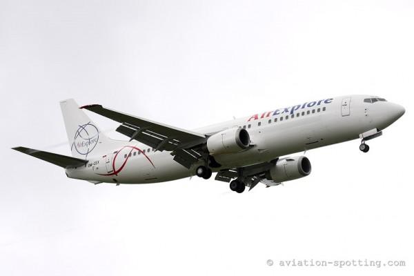 Air Explore Boeing B737-400 (Slovakia)