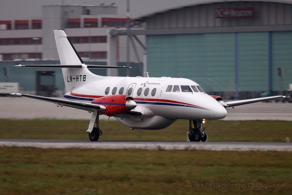Helitrans AS BAe Jetstream 31 (Norway)