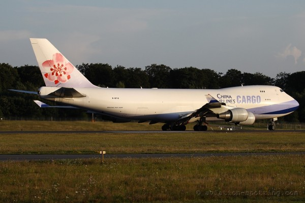 China Airlines Cargo Boeing B747-400 F (Taiwan)