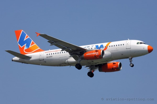 Wind Jet Airbus 319 (Italy)