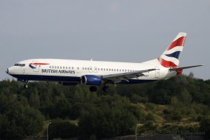 British Airways Boeing B737-400 (UK)