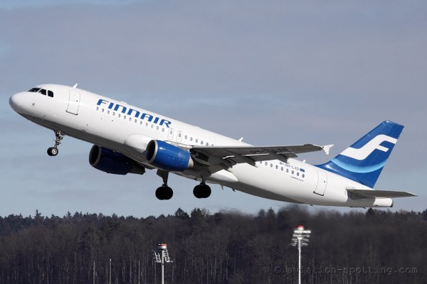 Finnair Airbus 320 old colours (Finland)