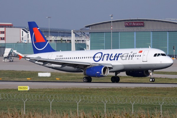 Onur Air Airbus 320 (Turkey)