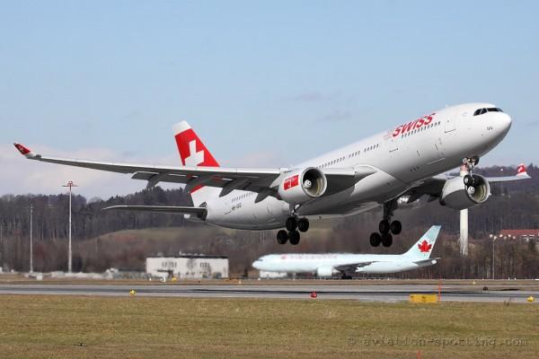 Swiss Airbus 330-200