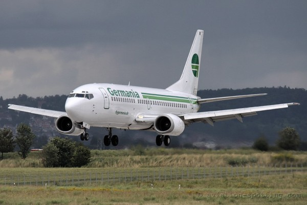 Germania Boeing B737-300 (Germany)