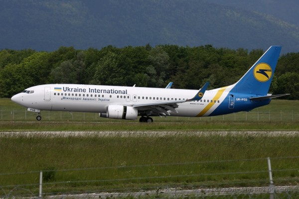 Ukraine International Airlines Boeing B737-800 (Ukraine)