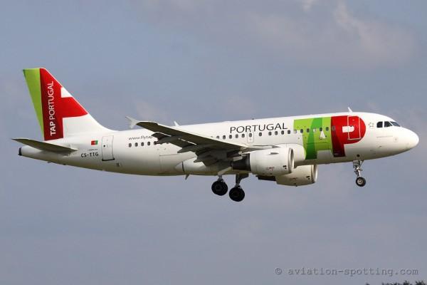 TAP Portugal Airbus 319