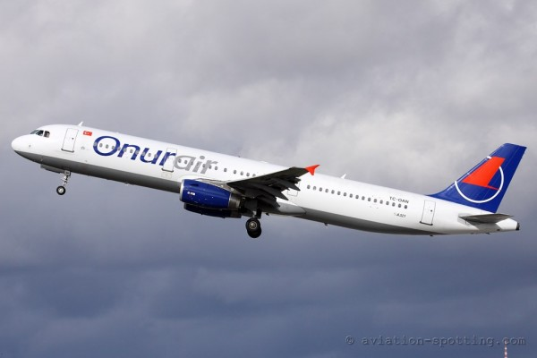 Onur Air Airbus 321 (Turkey)