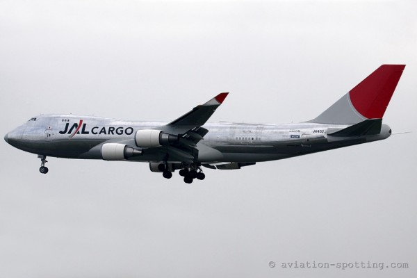 JAL Cargo Boeing B747-400 F (Japan)