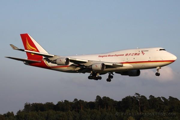 Yangtze River Express Boeing B747-400 F (China)