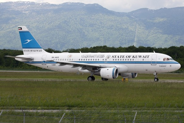 Kuwait Government Airbus 320