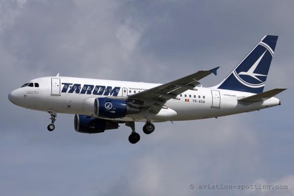 Tarom Airbus 318 (Romania)
