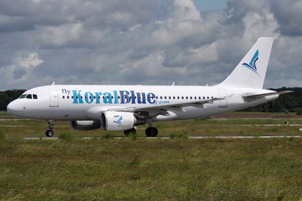 Koral Blue Airbus 319 (Egypt)