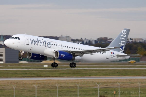 White Airways Airbus 320 (Portugal)