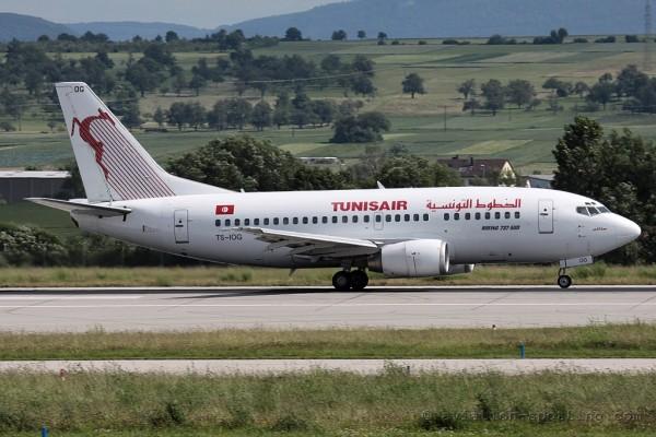 Tunisair Boeing B737-500 (Tunisia)
