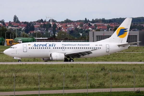 Aerosvit Airlines Boeing B737-300 (Ukraine)