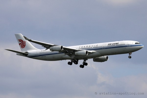 Air China Airbus 340-300