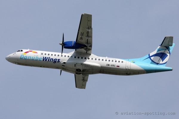 Danube Wings ATR72 (Slovakia)