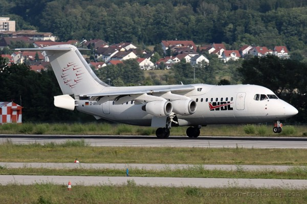 WDL Aviation BAe 146-200A (Germany)