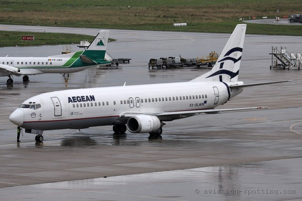 Aegean Airlines Boeing B737-400 (Greece)