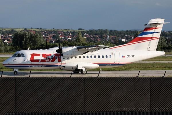 CSA Czech Airlines Aerospatiale ATR42
