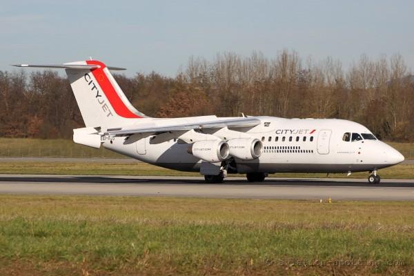 City Jet BAe Avro RJ-85 (Ireland)