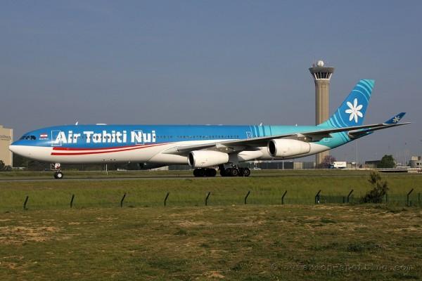 Air Tahiti Nui Airbus 340-300 (France-Polynesia)
