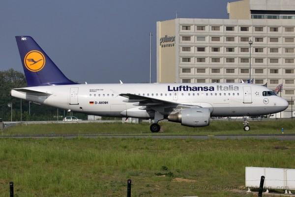 Lufthansa Italia Airbus 319