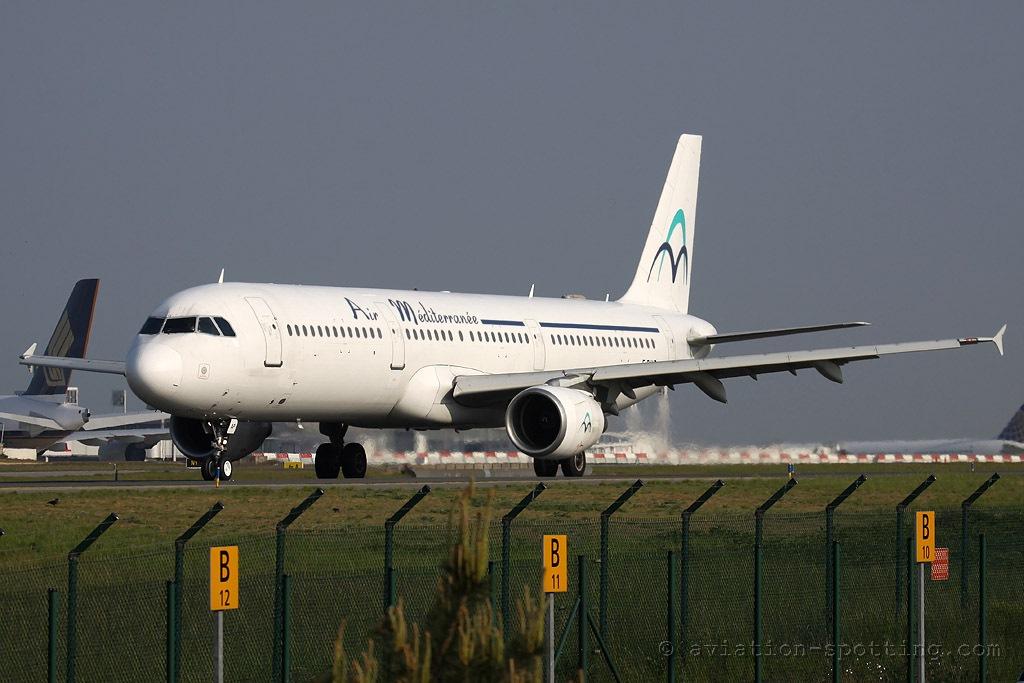 Air Mediteranee Airbus A321 (France)