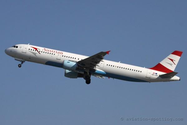 Austrian Airlines Airbus 321