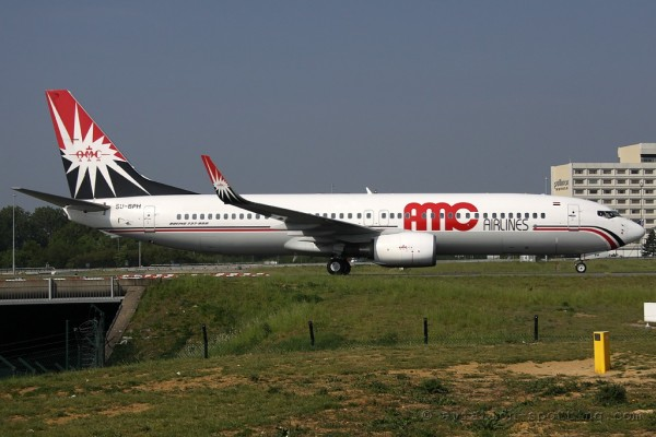 AMC Airlines Boeing B737-800 (Egypt)