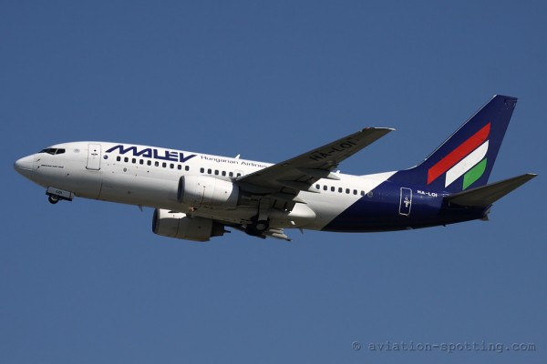 Malev Hungarian Airlines Boeing B737-700