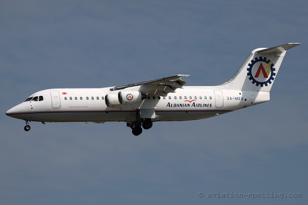 Albanian Airlines BAe 146-300