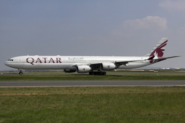 Qatar Airways Airbus 340-600
