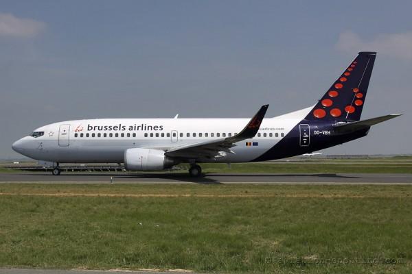 Brussels Airlines Boeing B737-300 (Belgium)
