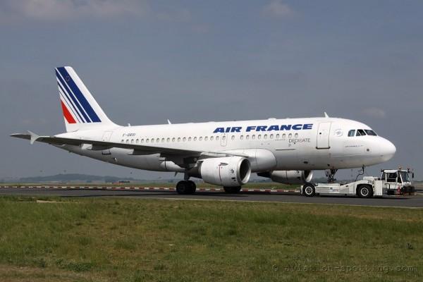 Air France Airbus 319