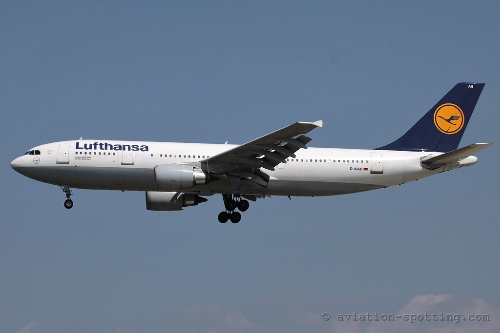 Lufthansa Airbus A300 (Germany)