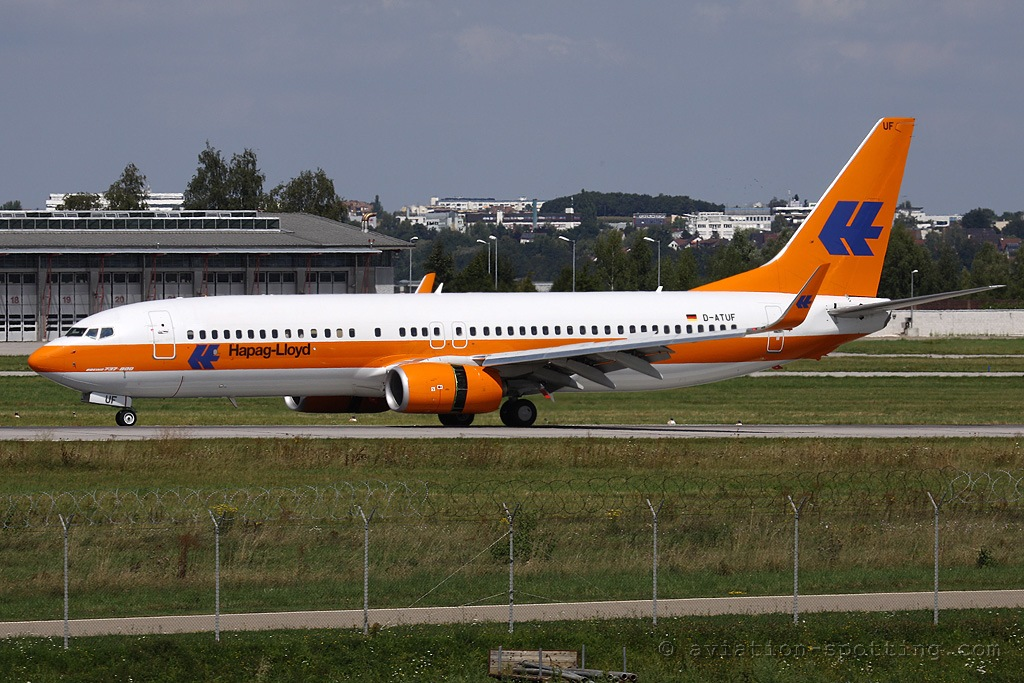 TUIfly Boeing B737-800 Hapag-Loyd colours (Germany)