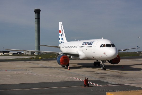 Strategic Airlines Airbus 320 (Luxembourg)