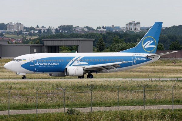Dniproavia Boeing B737-300 (Ukraine)