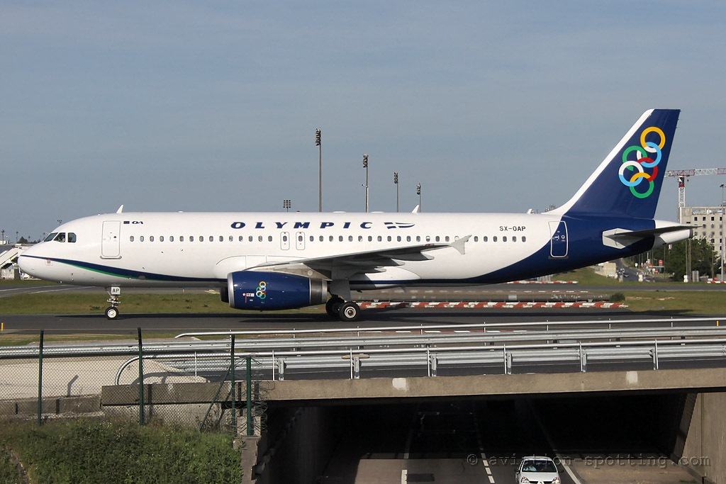Olympic Air Airbus A320 (Greece)