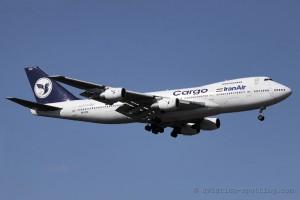 Iran Air Cargo Boeing B747-200 F