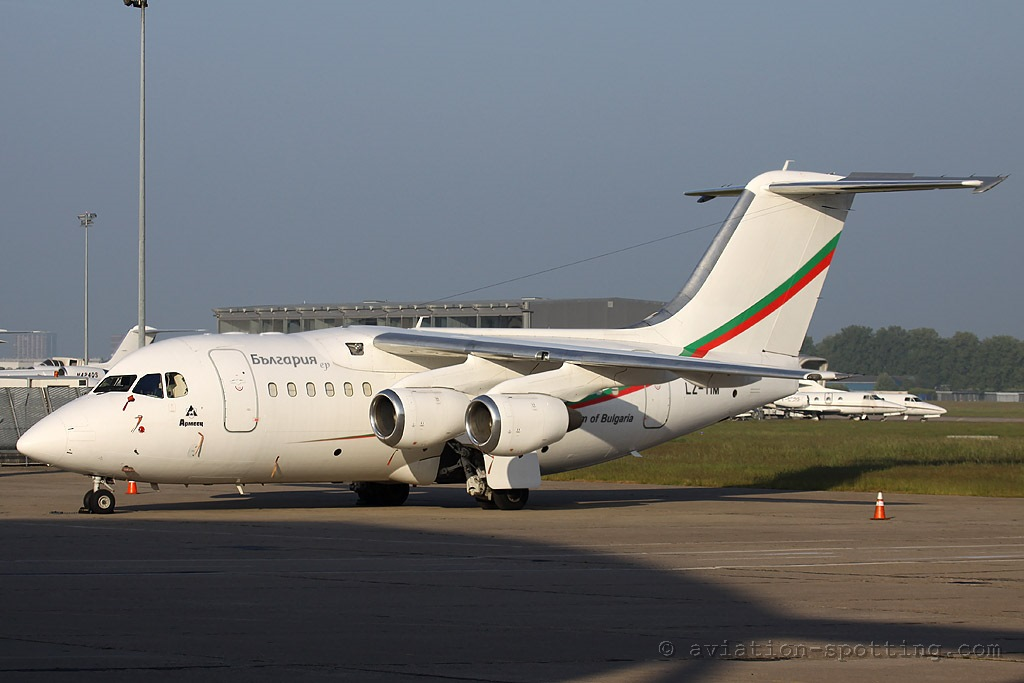 Bulgaria Air BAe RJ-70