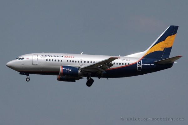 Aeroflot Nord Boeing B737-500 (Russia)